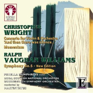 Christopher Wright: Concerto for Violin and Orchestra